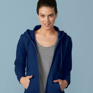 Heavy Blend Ladies' Fulll Zip Hood Sweat Thumbnail