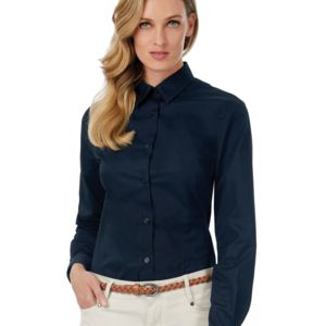Ladies' Sharp Twill Long Sleeve Shirt Thumbnail