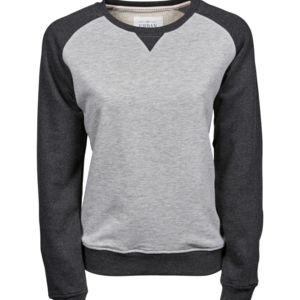 Tee Jays Ladies Two-Tone Sweat Thumbnail