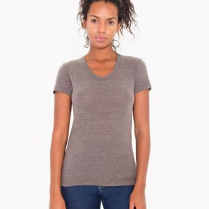 American Apparel Womens Triblend Tee Thumbnail