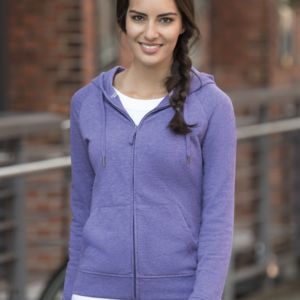 Russell Ladies HD Zipped Hooded Sweat Thumbnail